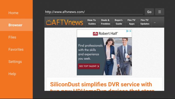 Install Viva TV on Firestick